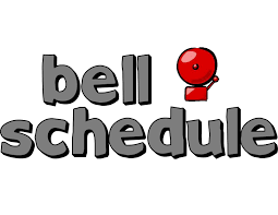 Bell Schedule Change for 2019-2020 School Year