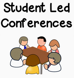 Student Led Conferences 5/9/19