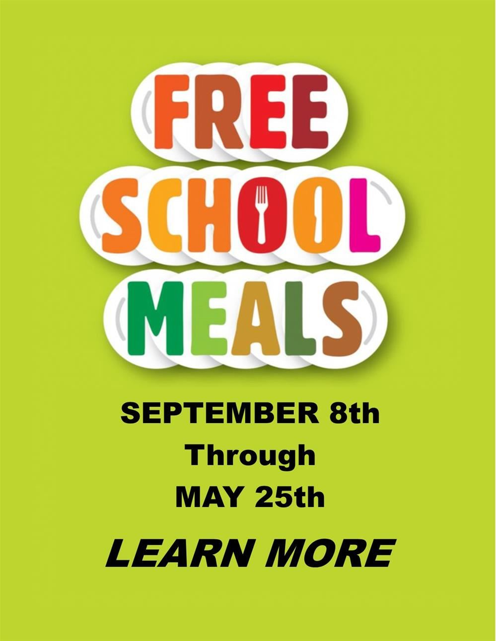 Free Meals  :  Click here to learn more