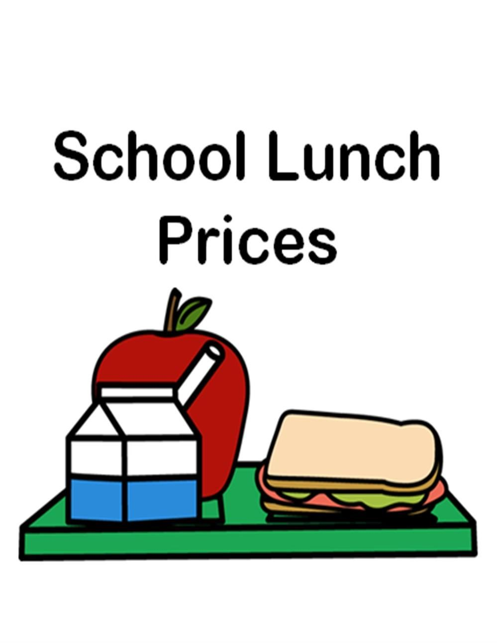 20-21 Cafeteria Meal Prices