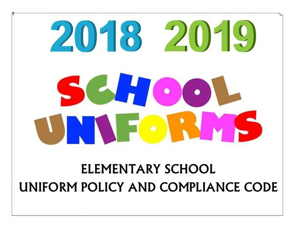 2018-2019 UNIFORM INFORMATION