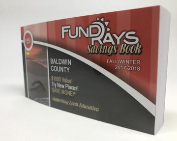 Fund Rays Coupon Book