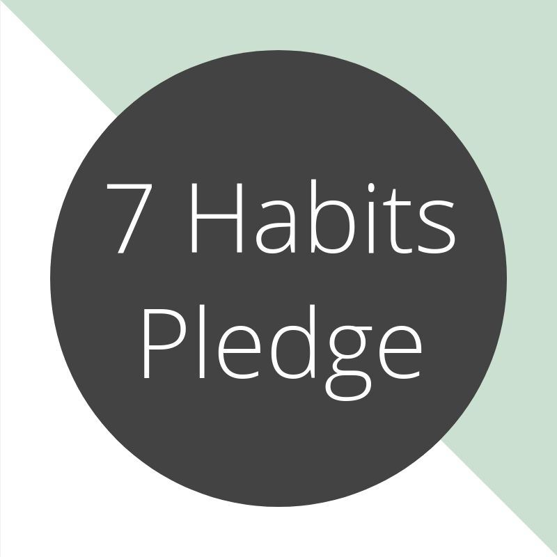 The 7 Habits Pledge