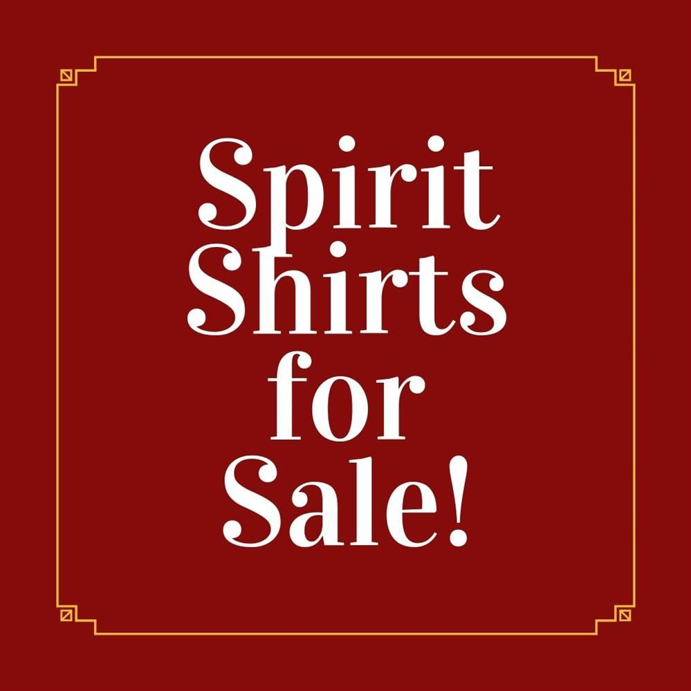 Spirit Shirt Sales