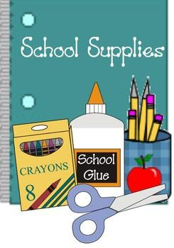 2018 - 2019 School Supply List