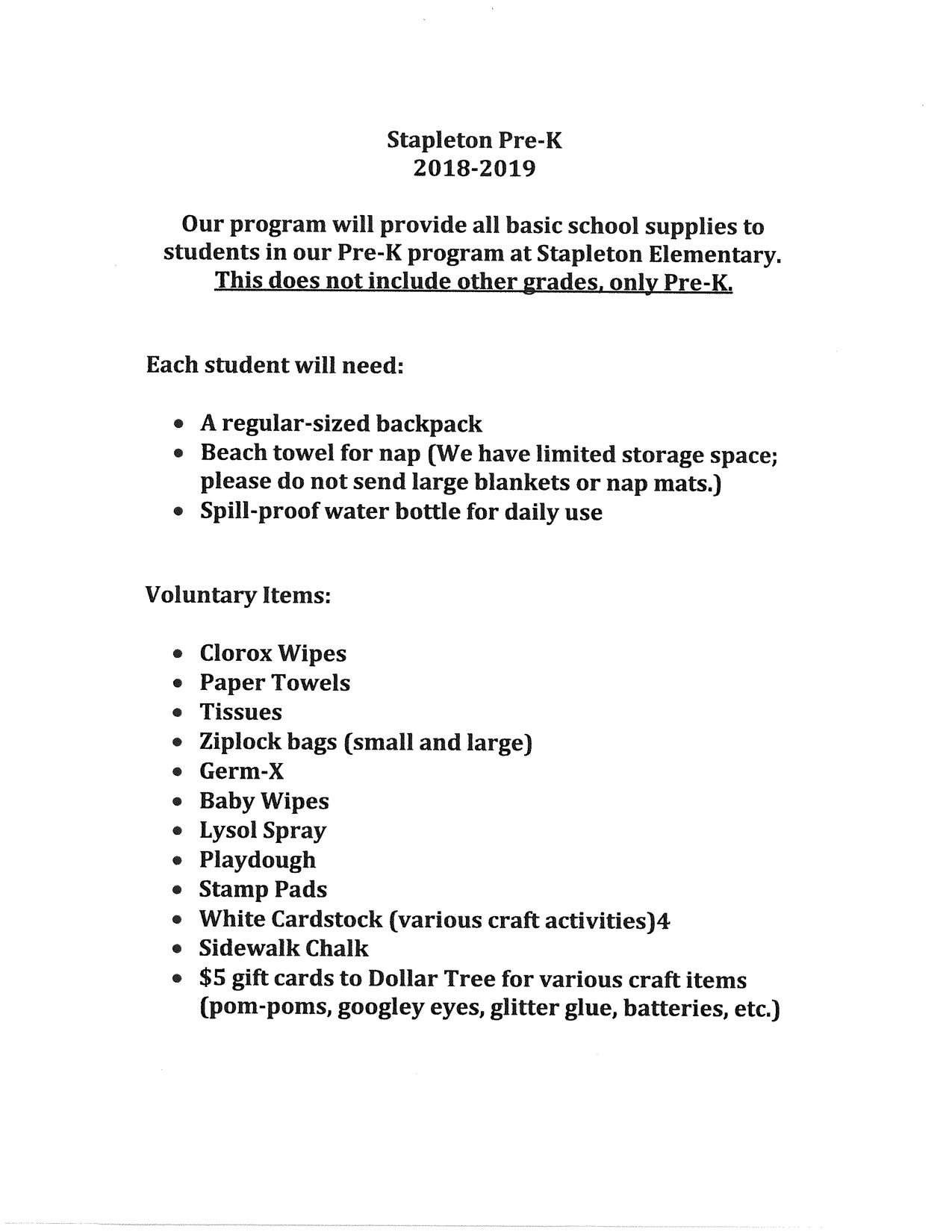 Stapleton Elementary / Homepage