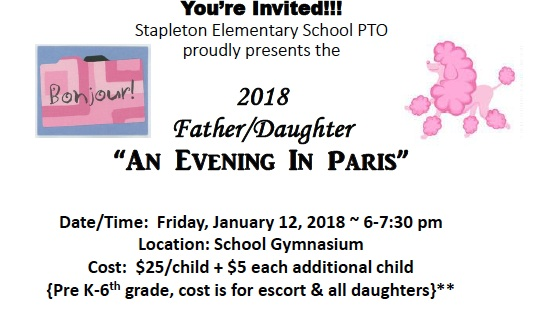 2018 Father / Daughter An Evening in Paris