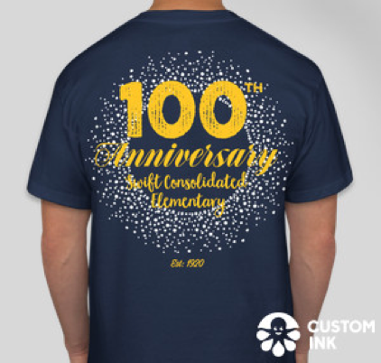 100th Year Swift School Swag :)