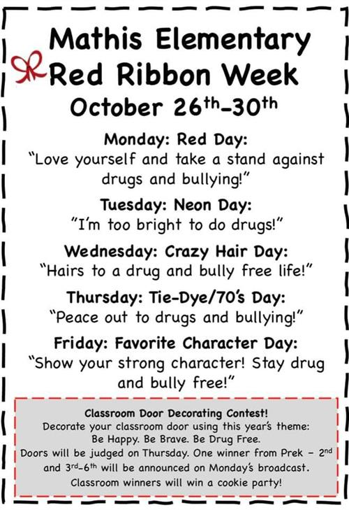 Red Ribbon Dress Days
