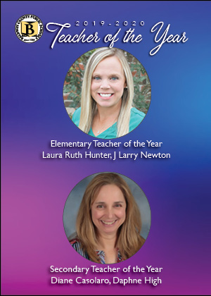 Laura Ruth Hunter & Dianne Casolaro are the 2019-20 Teachers of the Year