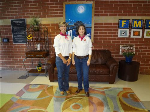 Red Ribbon Week- Mrs. Bowling and Mrs. Doyle