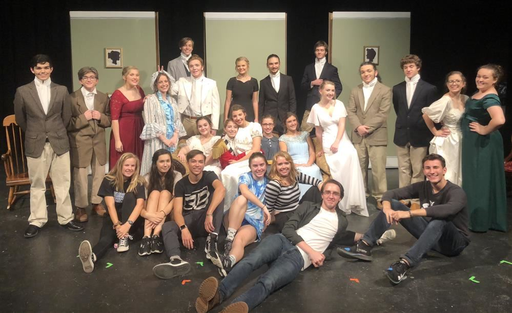 Cast and crew of Pride and Prejudice.