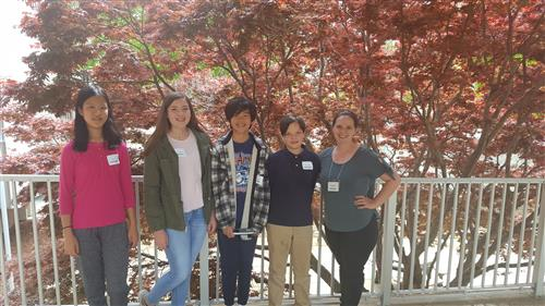 The 2017-2018 SFMS MathCounts team at state competition