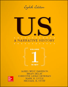 Cover Image - U.S.: A Narrative History, Volume 1
