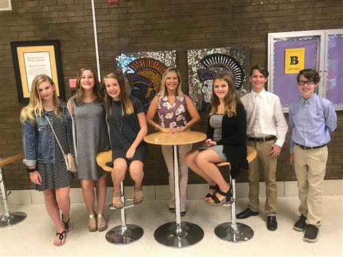 FBLA OFFICERS 2018-2019