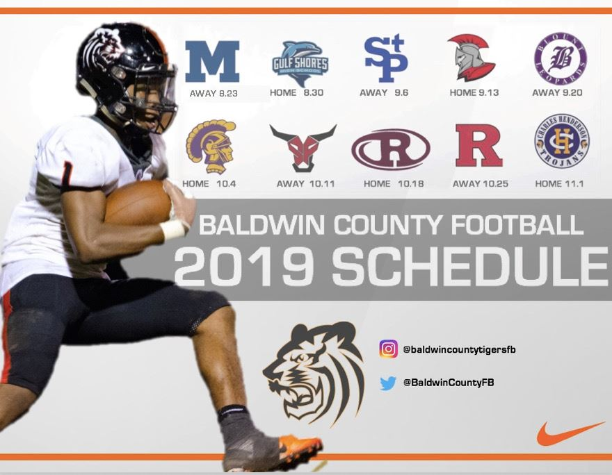 BCHS football schedule clipart