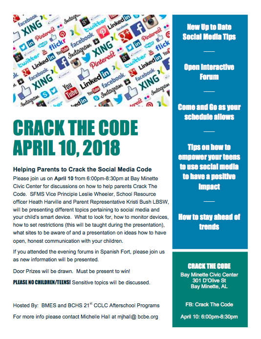 Crack the Code Event