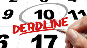 Priority Deadlines - for college bound.