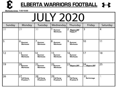 warriors football info