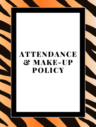 New Attendance and Make-Up Work Policy In Effect