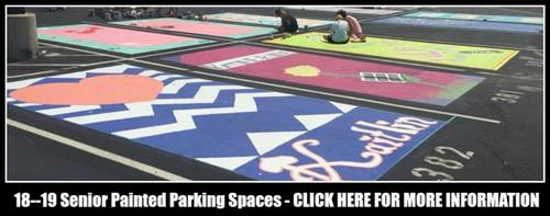 Painted Parking Spaces