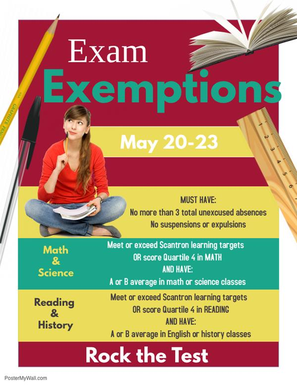 Exemption Policy