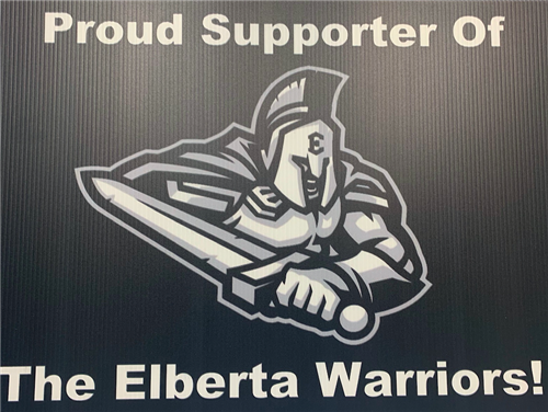 Support Your Warrior Yard Signs