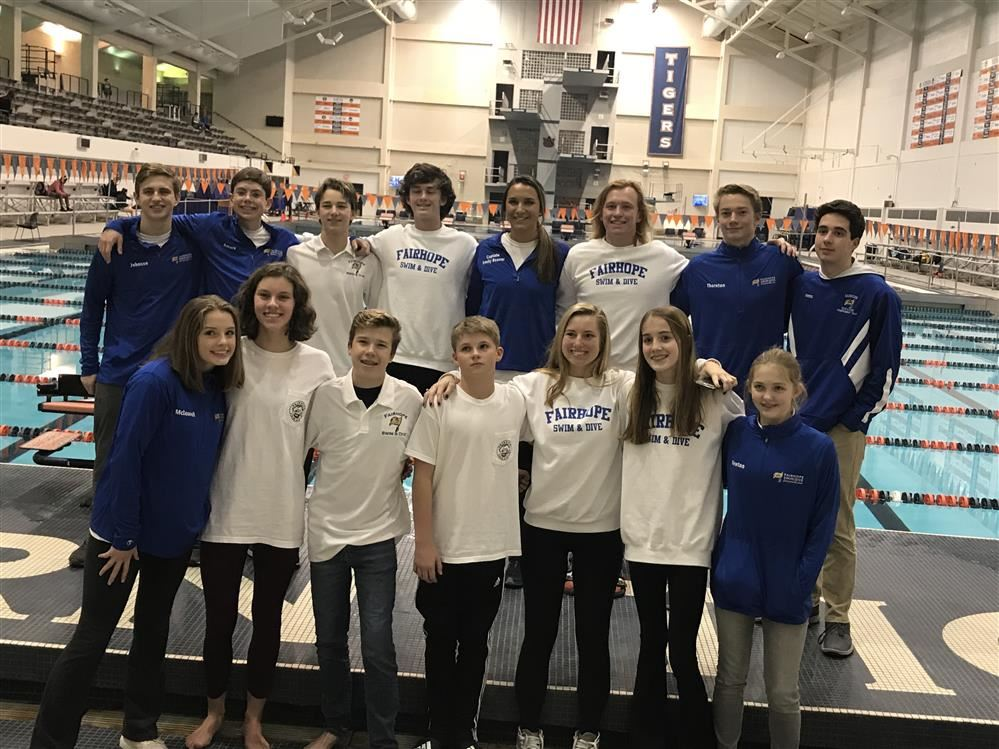 AMAZING State Meet for our Pirate Swimmers and Divers!