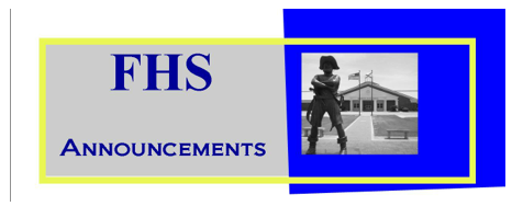 CLICK HERE to see the Daily Announcements