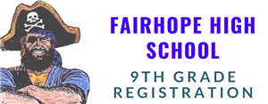 9th Grade Registration for 2019-20 School Year