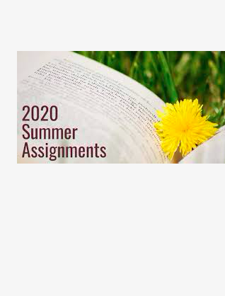 Summer 2020 - Assignments for Students