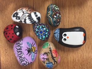 Kindness Rock Project - FHS Art Students