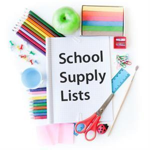 7th and 8th School Supply Lists 2019/2020
