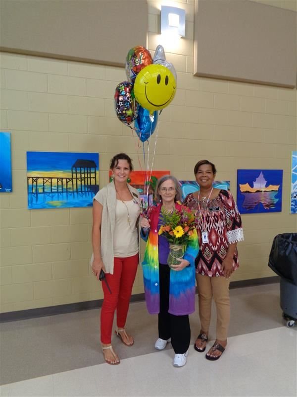 Congratulations to Mrs. Kinard, FMS Teacher of the Year!