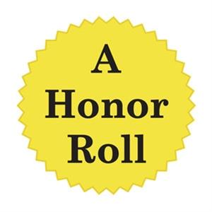 """ALL A'S ALL YEAR HONOR ROLL""- Congratulations 7th and 8th Grade Students!"