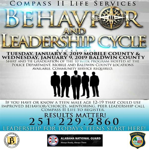 Compass II Behavior and Leadership Program for Teen Boys- Next Group Begins January 9th