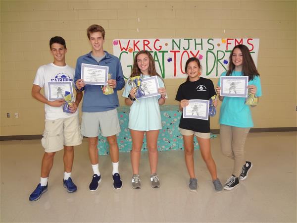 Congratulations to the 8th Grade Students of the Month for September and October!