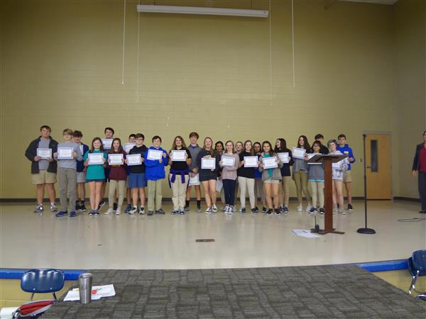 WINTER SCANTRON PERFORMANCE AWARDS