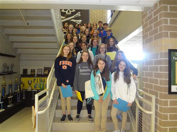 Congratulations to the 8th Grade Students Who Were Selected for the FHS Pre-IB Program!