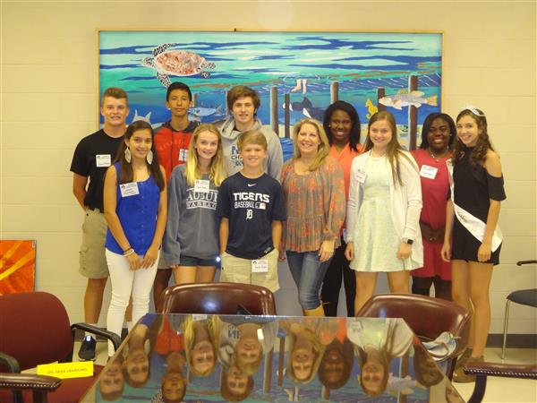 Fairhope Mayor Karin Wilson Visits FMS!