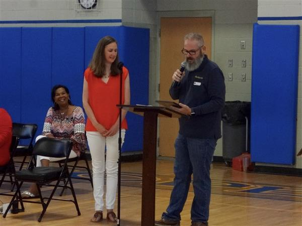 Mrs. Salley Is Recognized as Baldwin County Music Educator of the Year by Blues Angel Music!