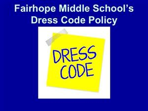FMS Dress Code Policy for 2019/2020- Letter From Administration to Parents!