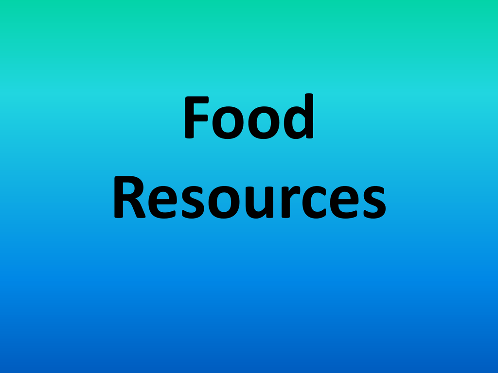 Fairhope Food Resources