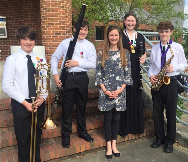 Congratulations to the FMS Band Students Who Made the Alabama All State Band!
