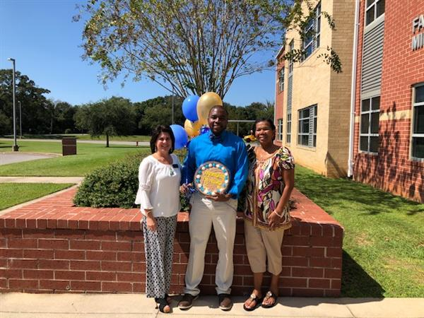 Mr. Mykel Williams is Selected as FMS Teacher of the Year 2018/2019!