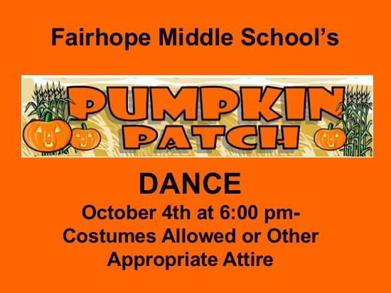 FMS Pumpkin Patch Dance