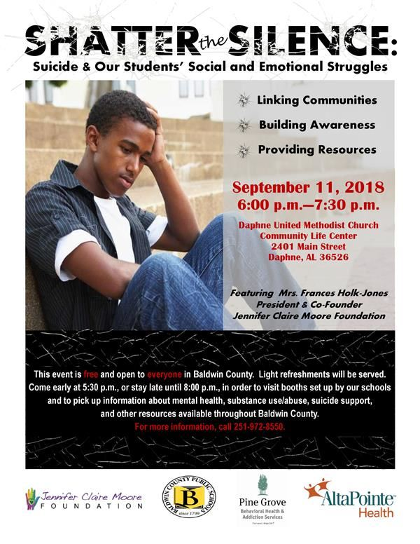 Shatter the Silence: Suicide & Our Students' Social and Emotional Struggles