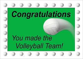 7th and 8th Grade Volleyball Team Rosters- Congratulations Students!