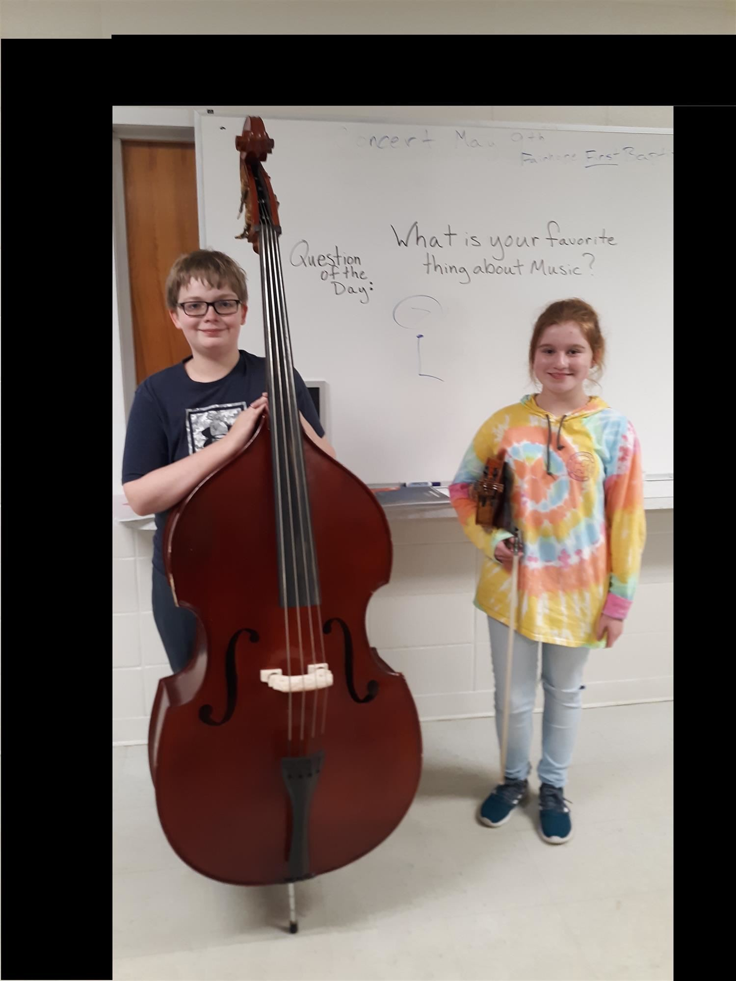 Noah Sugg, 8th Grade Band Student, Participated in the Alabama All State Orchestra Festival