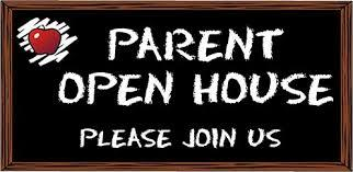 Parent Open House- August 26th at 6:00 pm- Parents Only Please!